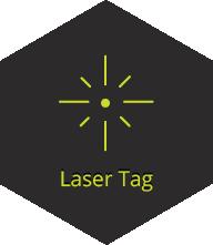 זיקית, לייזר טאג, laser tag
