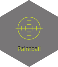 זיקית, פיינטבול, paintball